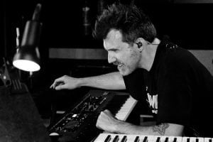 Marc Mennigmann on keyboards and piano