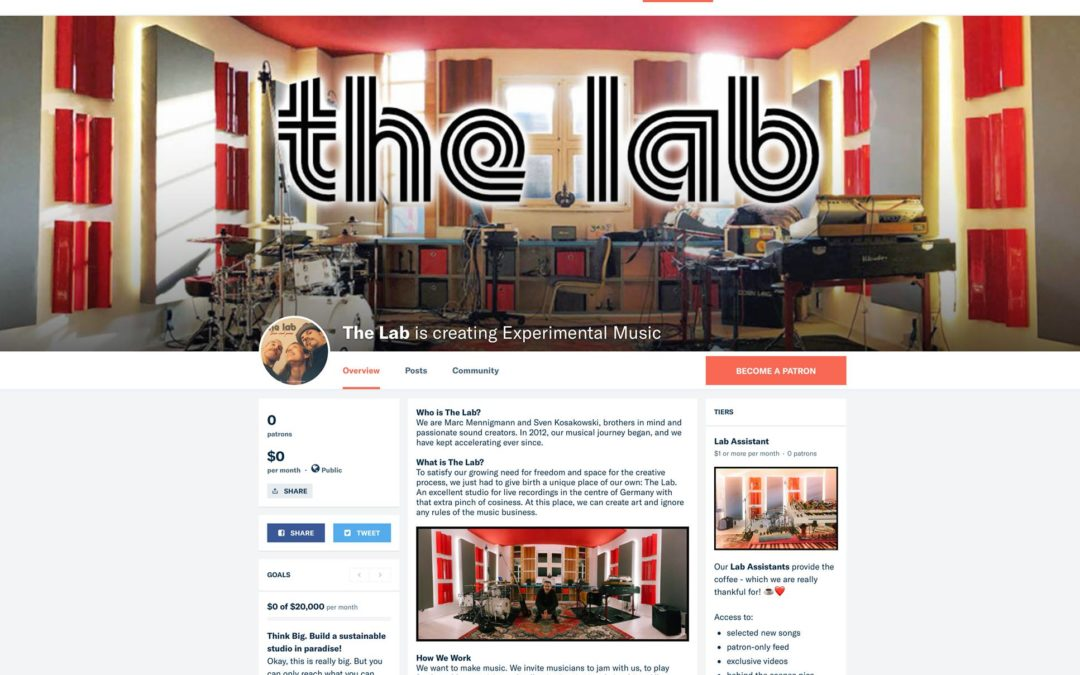 The Lab needs your Help!